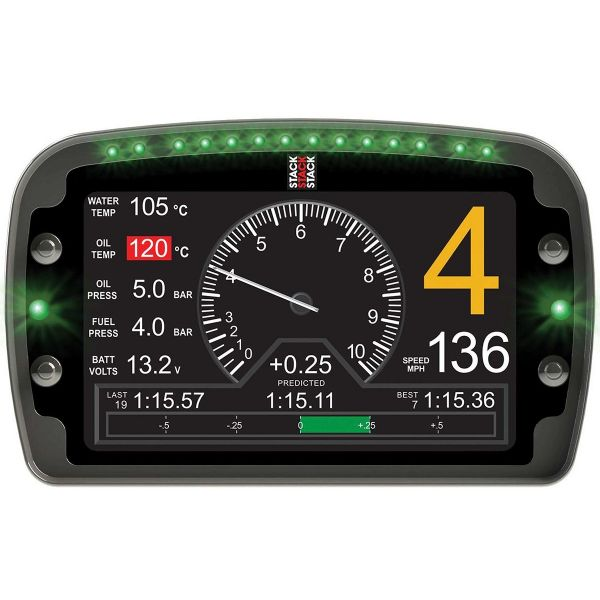 Stack LCD Multi Function Dash Logger